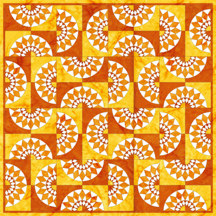 listing flower paper patterns il pattern quilt download from block pdf pieced sunflower quilts instant