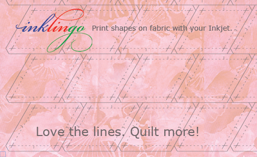Inklingo - Love the lines. Quilt more!