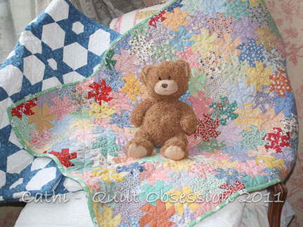 Cathi's Windmill Baby Quilt