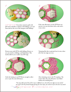 English Paper Piecing Rescue