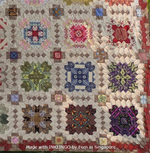 Patchwork of the Crosses by Fern in Singapore