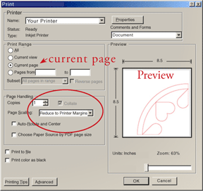 Learn the settings in the Print Dialog box