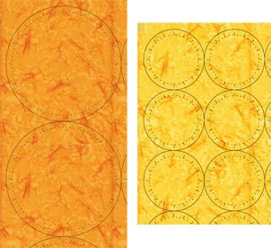 Print the shapes on fabric!
