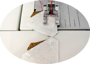 Sew by hand or by machine
