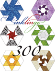 Inklingo 300 Pieced Hexagons