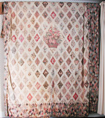 Jane Austen Coverlet