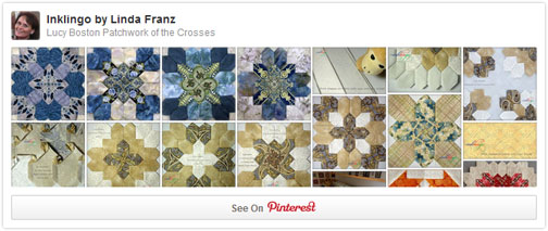 Patchwork of the Crosses on Pinterest