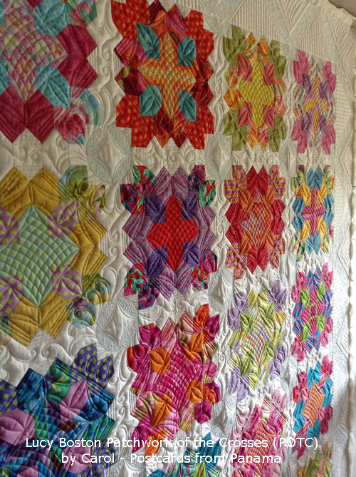 Patchwork of the Crosses by Carol in Panama
