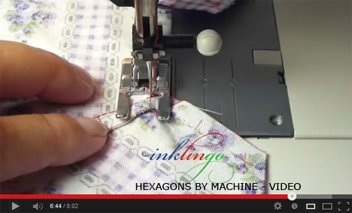 How to sew insets by machine