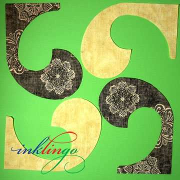 4 shapes for Yin Yang Quilt Block