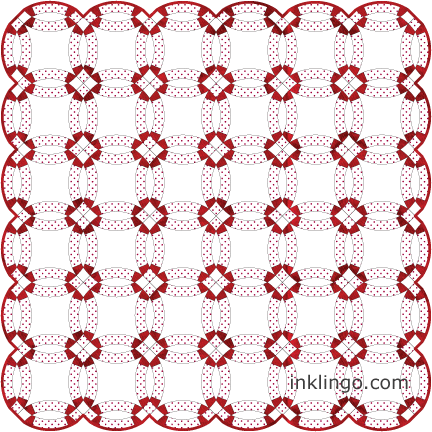 How To Sew A Double Wedding Ring Quilt All About Inklingo Blog