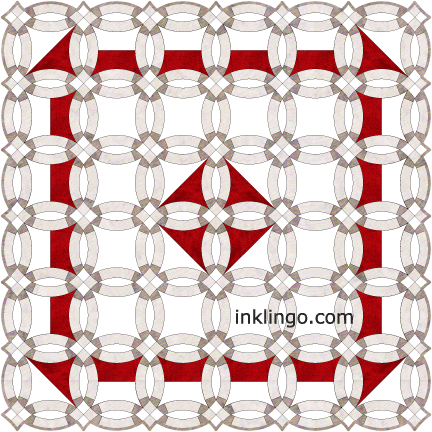 50 Double Wedding Ring Quilt Designs All About Inklingo Blog