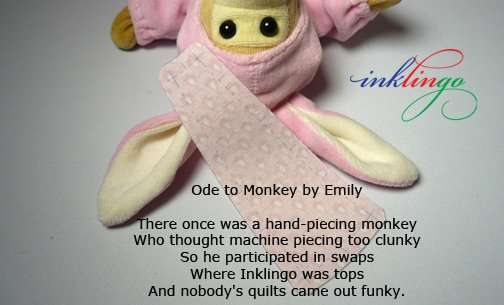 Ode to Monkey by Emily