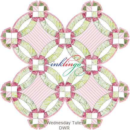 Inklingo Double Wedding Ring Quilts