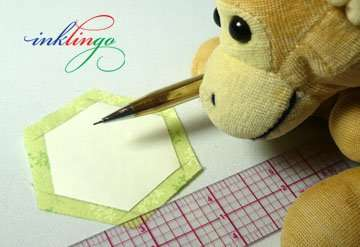 Use a pencil to mark the seam lines instead of basting.