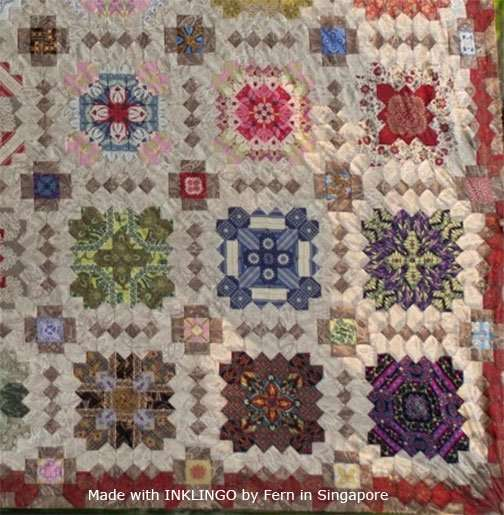 Inklingo Patchwork of the Crosses by Fern