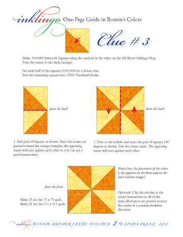 Inklingo Celtic Solstice Clue 03 one-page guide