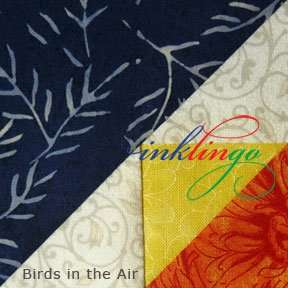 Inklingo Birds in the Air Quilt