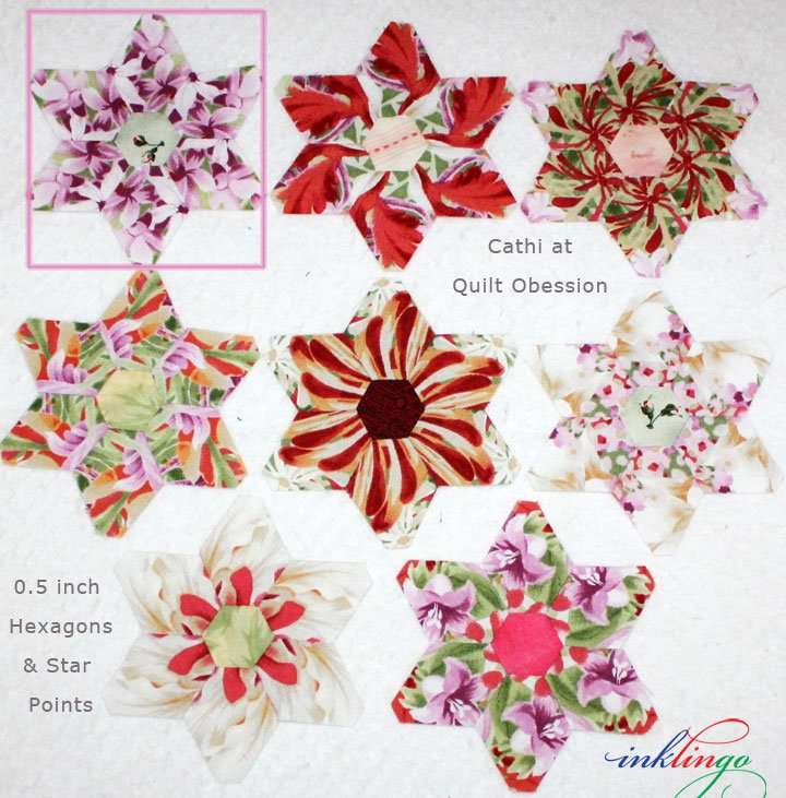 Inklingo Stars by Cathi at Quilt Obsession