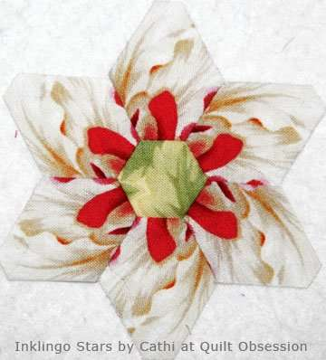 Inklingo Star by Cathi at Quilt Obsession
