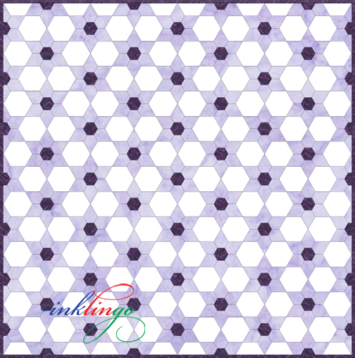 Inklingo Star Points for Texas Star Quilt
