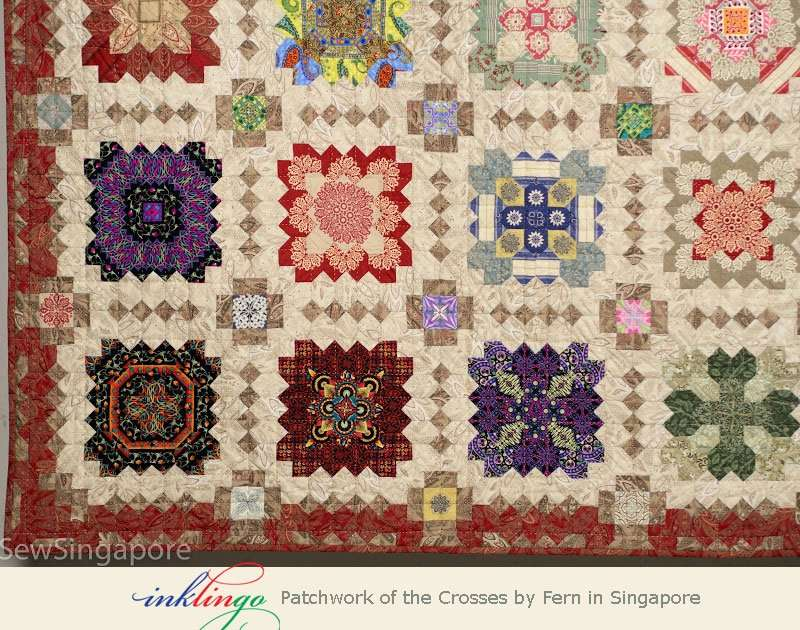 Inklingo Patchwork of the Crosses by Fern in Singapore