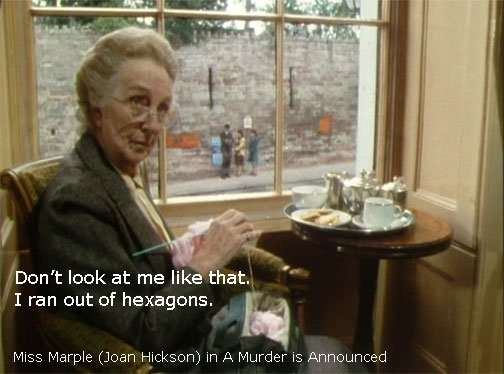 Miss Marple - I ran out of hexagons.