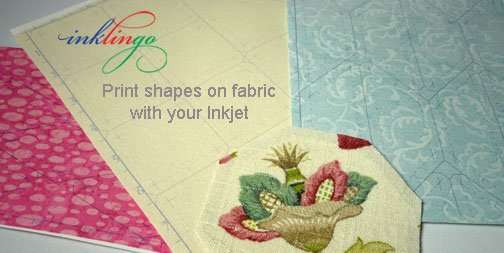 Print shapes on fabric with your Inkjet.
