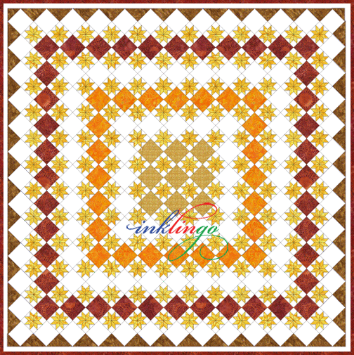 Inklingo On-Point Star Quilt