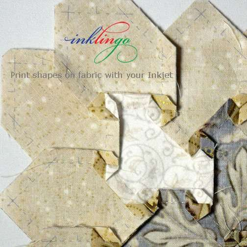 Inklingo - Print shapes on fabric with your ordinary Inkjet