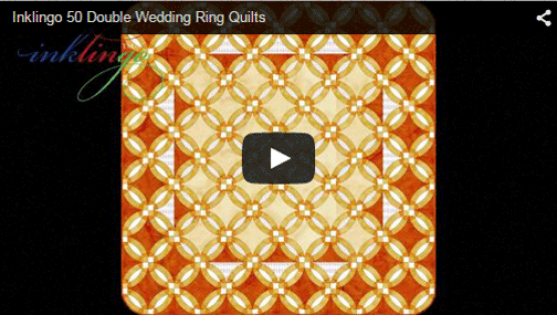 Video with 50 Inklingo Double Wedding Ring Designs