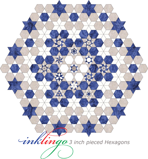 Settings for Pieced Hexagons