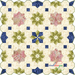New Inklingo Colonial Garden Shape Collection