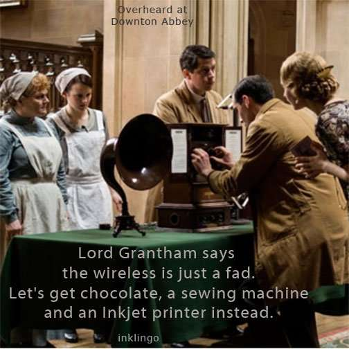 Wireless at Downton Abbey