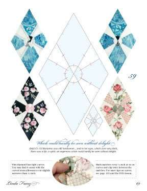 Quilted Diamonds 2 by Linda Franz
