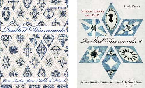Quilted Diamonds and Quilted Diamonds 2 by Linda Franz