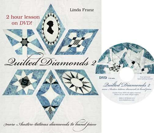 Quilted Diamonds 2 book and dvd