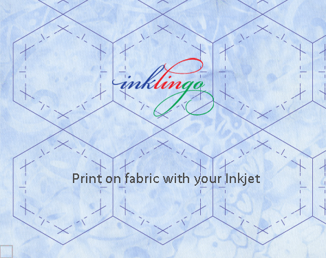 Print on fabric with Inklingo