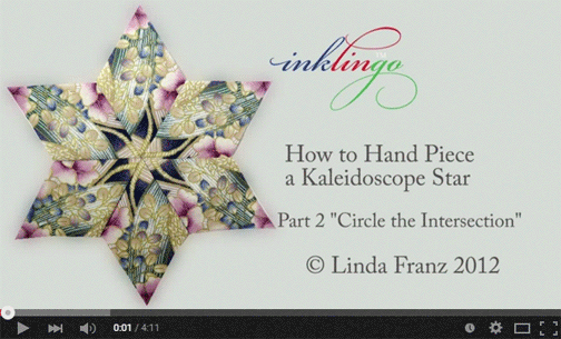 VIDEO How to sew stars