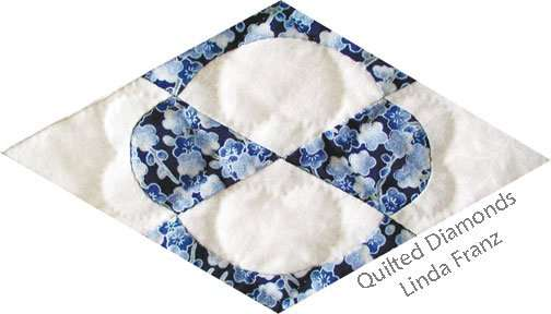 Diamond from Quilted Diamonds by Linda Franz