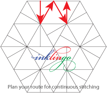 Pieced-Hex-continuous-stitching