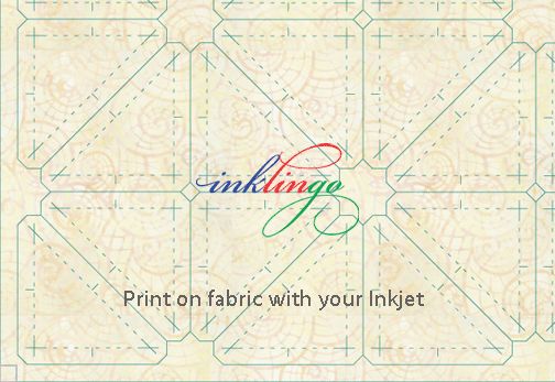 Print on quilt fabric with your Inkjet
