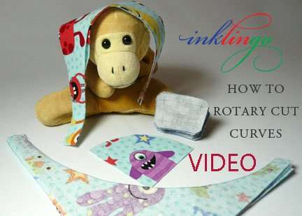 How to rotary cut curves - VIDEO