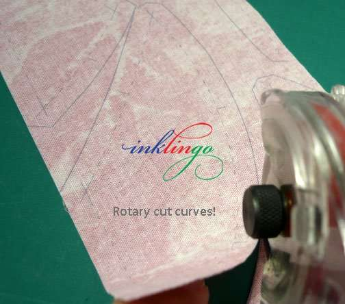 Rotary cutting curves with Inklingo