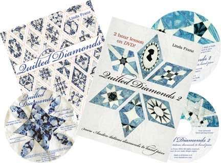 Quilted Diamonds books and DVD
