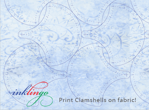 Clamshell template