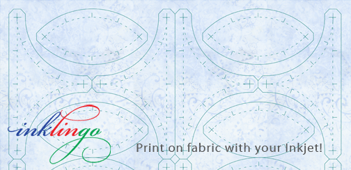 Clamshell Rose quilt templates