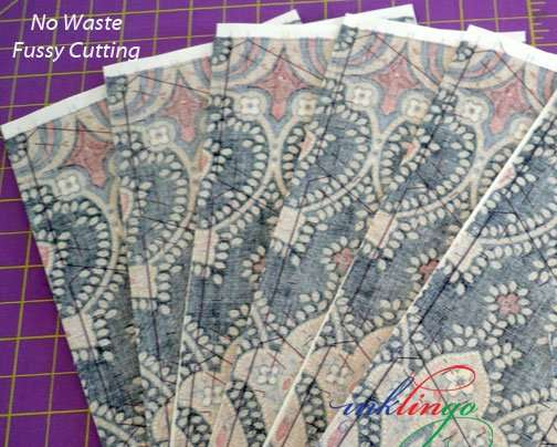 Print identical sheets of fabric