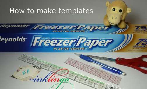 How to make your own tempaltes
