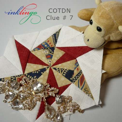 The Case of the Diamond Necklace Mystery Quilt